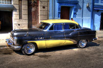 1953 Buick in Havana, Cuba (2) by rene-photography