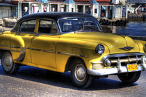 1953 Chevrolet Bel Air in Havana, Cuba von rene-photography