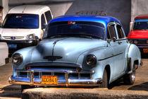 1949 Chevrolet DeLuxe in Havana, Cuba by rene-photography