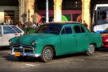 1949 Ford in Havana, Cuba (2) von rene-photography