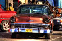 1956 Chevrolet Bel Air in Havana, Cuba (3) von rene-photography