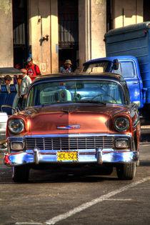 1956 Chevrolet Bel Air in Havana, Cuba (2) von rene-photography