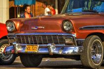 1956 Chevrolet Bel Air in Havana, Cuba (1) von rene-photography