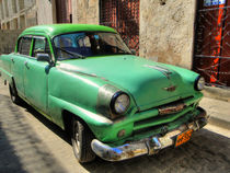 1954 Plymouth in Havana, Cuba (2) by rene-photography