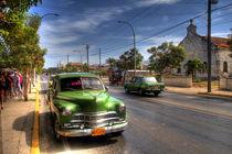 1949 Dodge Kingsway in Varadero, Cuba (1) von rene-photography