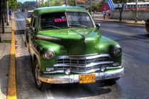 1949 Dodge Kingsway in Varadero, Cuba von rene-photography