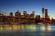Brooklyn Bridge New York City by Markus Strecker