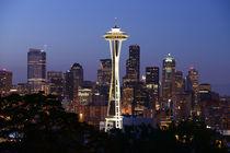 Seattle Night by Markus Strecker