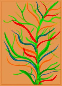 Colourful Tree by Sarah Ziegler