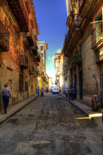 Havana Alleyways von rene-photography