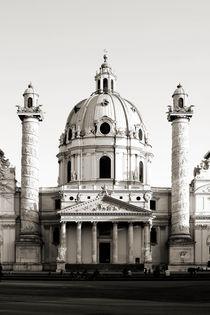 Karlskirche by Bastian  Kienitz