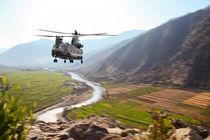 Chinook Supply Drop by James Biggadike