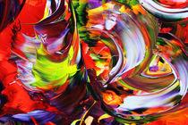 Abstrakt 35 von Walter Zettl