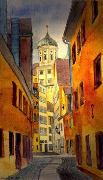 Augsburg 1 von Marie Luise Strohmenger