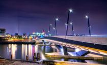 Baakenhafenbrücke II by photoart-hartmann