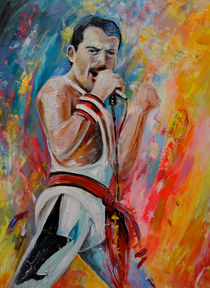 Freddie Mercury 03 by Miki de Goodaboom