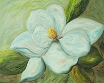 Spring's First Magnolia Blossom 1 by eloiseart