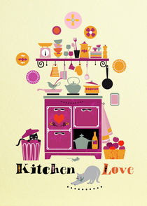 Kitchen Love by Elisandra Sevenstar