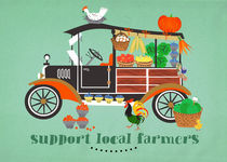 support local farmers von Elisandra Sevenstar