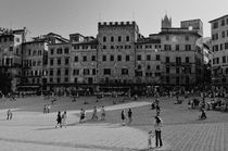 Siena - Piazza del Campo by Wolfgang Dengler
