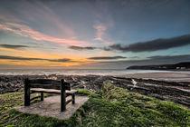 Croyde Bay Sunset von Dave Wilkinson
