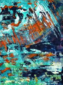 außerirdische Landschaft 2013 von Barbara Ast