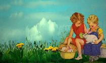 Osterfreuden von Marie Luise Strohmenger
