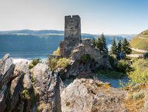 Burg Gutenfels bei Kaub-Ostseite(3neu) von Erhard Hess