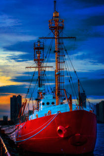 The Lightship Nantucket by Chris Lord