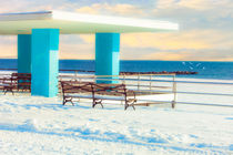 The Boardwalk In Winter by Chris Lord