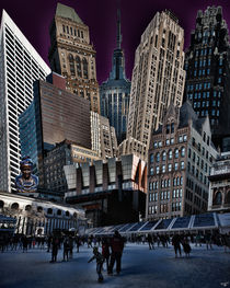 Bryant Park Collage von Chris Lord
