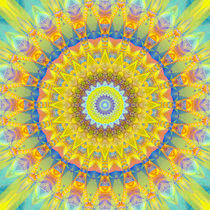 Mandala Sonne Nr. 2 von Christine Bässler
