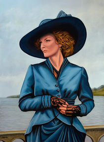 Michelle Pfeiffer painting von Paul Meijering