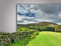 Out of bounds, Yorkshire wall von Robert Gipson