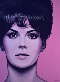 Natalie Wood painting von Paul Meijering