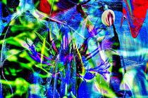 Abstrakt 38 von Walter Zettl
