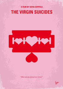 No279 My The Virgin Suicides minimal movie poster by chungkong