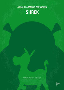No280 My SHREK minimal movie poster von chungkong