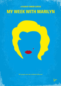 No284 My week with Marilyn minimal movie poster by chungkong