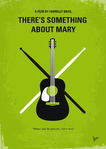 No286 My There's Something About Mary minimal movie poster von chungkong