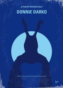 No295 My Donnie Darko minimal movie poster von chungkong