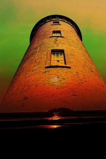 Leuchtturm 4  Cuxhafen by Walter Zettl
