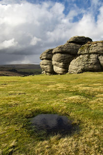 Saddle Tor on Dartmoor by Pete Hemington
