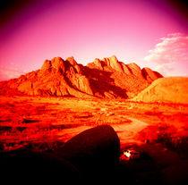namibian sunset by Giorgio Giussani