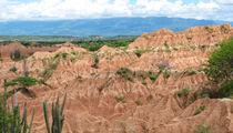 Fernsicht in der Tatacoa Wüste von reisemonster