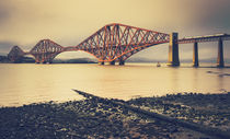 Forth Road Bridge. by David Pinzer