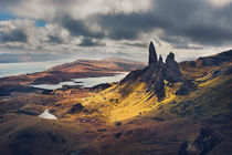 Peaks in the Skye by David Pinzer