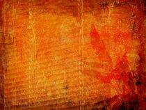 Orange leaves. by Alexandra Köbe
