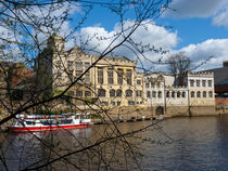 York City Guildhall river Ouse by Robert Gipson