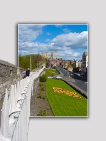 York walls minster by Robert Gipson